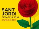 Vine a gaudir de la diada de Sant Jordi a Cassà de la Selva