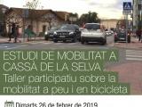 Taller participatiu sobre mobilitat activa a Cassà de la Selva