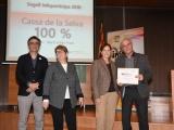 L'Ajuntament de Cassà rep el guardó del Segell Infoparticipa, amb un 100% de transparència per la informació penjada al seu web municipal