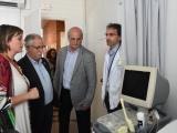 La consellera de Salut, Alba Vergés, visita Cassà i explica el pla de millora d'equipament de l'atenció primària al CAP del municipi, on s'invertiran 100.000 euros