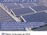 Xerrada: Vols generar la teva energia? Campanya gir solar