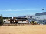 Comencen les obres d'urbanització de l'aparcament de la piscina coberta i el Pavelló Triple