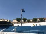 Nova il·luminació al camp de futbol municipal amb un important estalvi energètic.