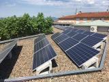 La llar d'infants municipal de Cassà ja disposa de plaques fotovoltaiques