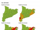 S'actualitza la fase d'ALERTA del Pla especial d'emergències per nevades a Catalunya