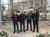 Visita de treball a les instal·lacions policials de Castell - Platja d'Aro